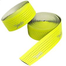 DEDA Mistral Fluo Yellow Perforated Drop Handlebar Tape Road Racing Bike Bicycle