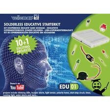Velleman Starter Kit Solderless Experimental Electronics Kit for Beginners