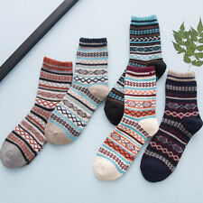 1Pair Men's Warm Winter Thick Wool Cotton Blend Cashmere Casual Dress Long Socks