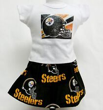 Pittsburgh Steelers Outfit For 18 Inch Doll