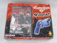 PlayStation 2 PS2 Namco Vampire Night + G Con 2 Boxed
