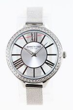 Kenneth Cole Women's Watch 40mm Crystal Accent Mesh Band KC50184008