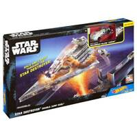 Hot Wheels Star Wars Star Destroyer Double Jump Duel Set Brand New Age 4+ Mattel