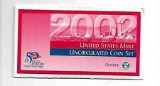 2002-D u.s. Coin set