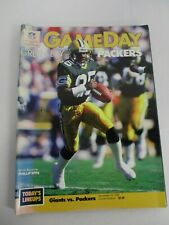 DEC 19, 1987 NEW YORK GIANTS vs GREEN BAY PACKERS GAMEDAY PROGRAM w PHILLIP EPPS