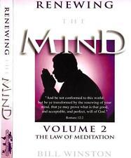 Renewing the Mind - Law of Meditation - Vol 2 - 4 CD Teaching - Bill Winston