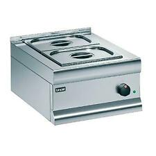 More details for lincat bain marie dry heat includes 2 x 1/2 gn - 290x450x600mm