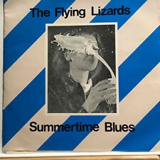 "The Flying Lizards ‎'Summertime Blues' 7"" 45 RPM EP"