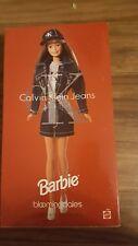 Bloomingdale's Limited Edition Calvin Klein Jeans Barbie Doll-1996-NIB