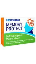 2X $15 Life Extension Memory Protect 72 day supply cognitive brain health