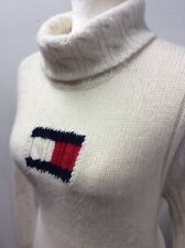 Tommy Hilfiger Lambs Wool / Angora Turtle Neck Sweater