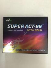 2 X Ayurvedic Super Act99 capsule with gold  Sex Power Booster Capsule For MEN