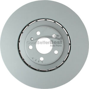 One New Zimmermann Disc Brake Rotor Front 100336375 for Audi A8 Quattro SQ5