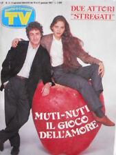 TV Sorrisi e Canzoni n°3 1987 - Ornella Muti Francesco Nuti - Sanremo 87 [C68]