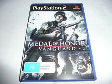 MEDAL OF HONOR VANGUARD PS2 GAME NEW