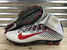 Nike Vapor Untouchable 2 Football Cleats Red White Blue Usa Pats Sz (835646-119)