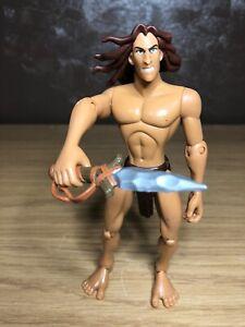 "Disney Tarzan Fully Posable Action Figure 1999 - 7"" Tall"