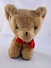 """Eden Puppy Dog Wind Up Musical Plush Head Moved 7.5"""" Tall Vintage"""