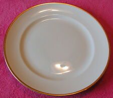 Pope Gosser Coin Gold no Verge (De Luxe) DINNER PLATE(s) (9 avail) 3 diff sizes