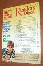 READER'S DIGEST 1995 MARCH WELFARE;IRELAND;RYAN;DOLLAR;FISH;LOBBYIST;BOB MOSES