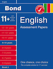 Bond More Third Papers in English 9-10 Years by Sarah Lindsay (Pamphlet, 2007)