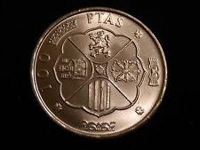 CIEN PESETAS DE PLATA DE 1966 (* 19-67) ¡¡ SIN CIRCULAR COLOR Y BRILLO ORGINAL!!