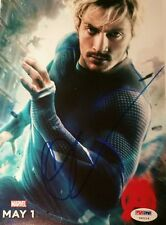 Aaron Taylor Johnson Quicksilver Marvel Avengers Signed Autographed Photo PSADNA