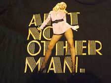 CHRISTINA AGUILERA BACK TO BASICS TOUR AIN'T NO OTHER MAN CONCERT T-SHIRT XL