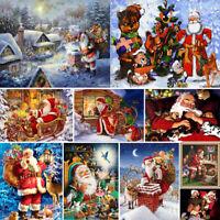 5D Christmas Gifts DIY Full Drill Diamond Painting Embroidery Kit Art Snow Decor