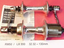 Shimano RM50 / Deore LX 550  7 Sp. Freehubs  32.32 / 130mm HG bicycle hub - NOS