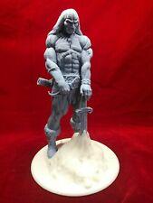 The Barbarian / Fan Art / Resin Figure / Model Kit-1/8 scale.