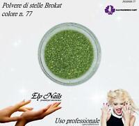 Polvere di stelle Brokat n. 77 - Allepaznokcie - Ricostruzione unghie Nail Art
