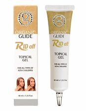 Organic Glide Acne Treatment Topical Spot Gel for Acne Pimples & Blackheads