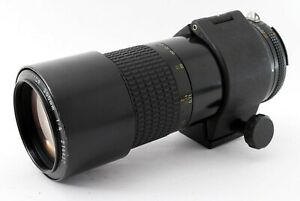 [Very Good] Nikon Ai-s Micro Nikkor 200mm f/4 MF Macro Lens from Japan by FedEx