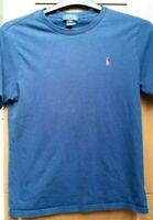 POLO RALPH LAUREN Boys' Kids' Blue T-shirt, size Large Kids (14 - 16 Years)