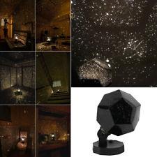 Star Sky Projector Night Light Bulb Lamp Romantic Cosmos Galaxy Home Decor