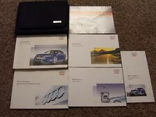 2007 Audi RS 4 Factory Owner Operator User Guide Manual Set ORIGINAL 4.2L V8