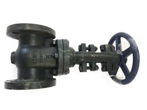 "2"" Nibco Cast Iron F617-02 IBBM Gate Valve Flanged 125 40206 NEW FREE FAST SHIP"