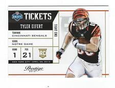 2013 Prestige NFL Draft Tickets #5 Tyler Eifert Bengals