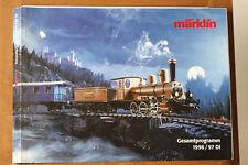 Märklin catálogo gesamtprogramm 1996/1997 DI (81483)