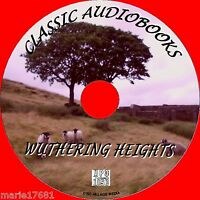 WUTHERING HEIGHTS EMILY BRONTE MP3 CD A CLASSIC AUDIOBOOK NOVEL UNABRIDGED NEW