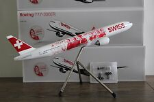 "SWISS B-777-300ER (HB-JNA) ""Faces"", 1:200, Corporate Modell für Swiss, LIMOX"