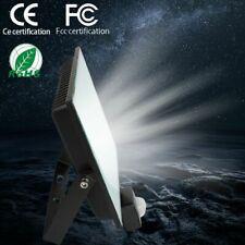 100W LED Flood Light PIR Motion Sensor Outdoor Garden Security Light 6500K