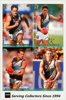 1999 Select AFL Premier Card Series Base Team Set Port Adelaide (12) - Rare