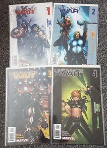 Ultimate War #1-4 Complete Set (The Ultimates vs. Ultimate X-Men) Marvel Comics