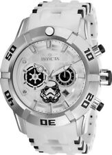 Invicta 26552 Star Wars Men's Chronograph 50mm Stainless Steel Silver Dial Watch