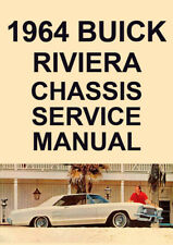 BUICK RIVIERA CHASSIS SERVICE MANUAL: 1964