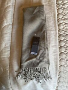 marks and spencer Soft Touch Oatmeal Colour Scarf