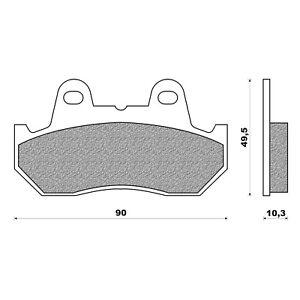 Newfren Front / Rear Brake Pad for Kawasaki GTR1400 Z1000 ST1000 Z1300 ZG1300 DF