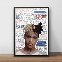 Art Poster XXXTentacion Rap Hip Hop 36 27x40inch Wall Silk N730